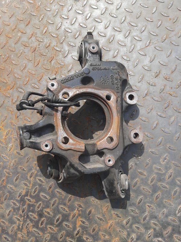 Кулак поворотный Bmw X3 F25 2.0 N47D20C 2012 задний правый нижний (б/у)