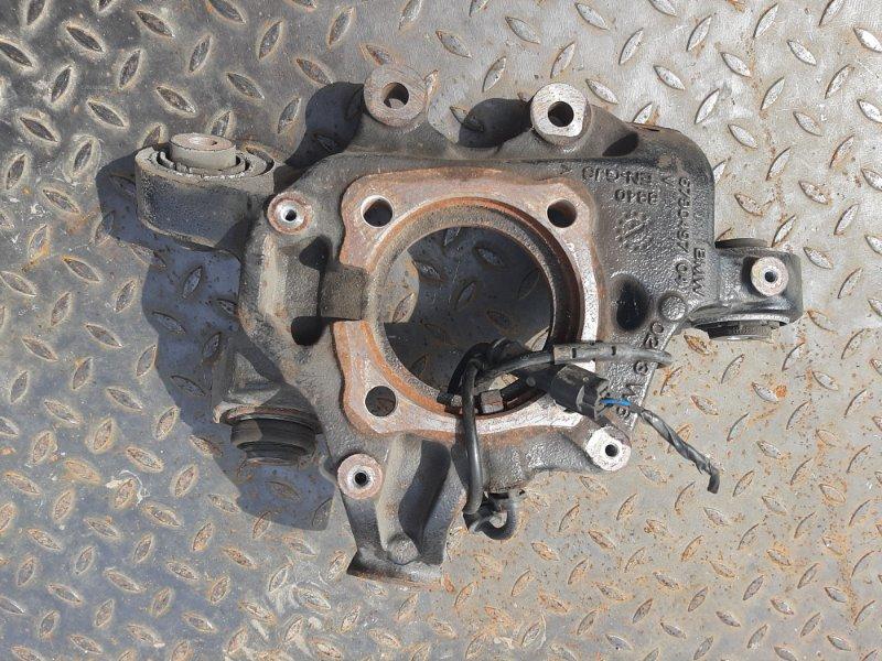 Кулак поворотный Bmw X3 F25 2.0 N47D20C 2012 задний левый нижний (б/у)