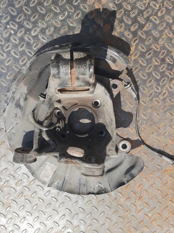 Кулак поворотный Bmw X3 F25 2.0 N47D20C 2012 передний правый нижний (б/у)