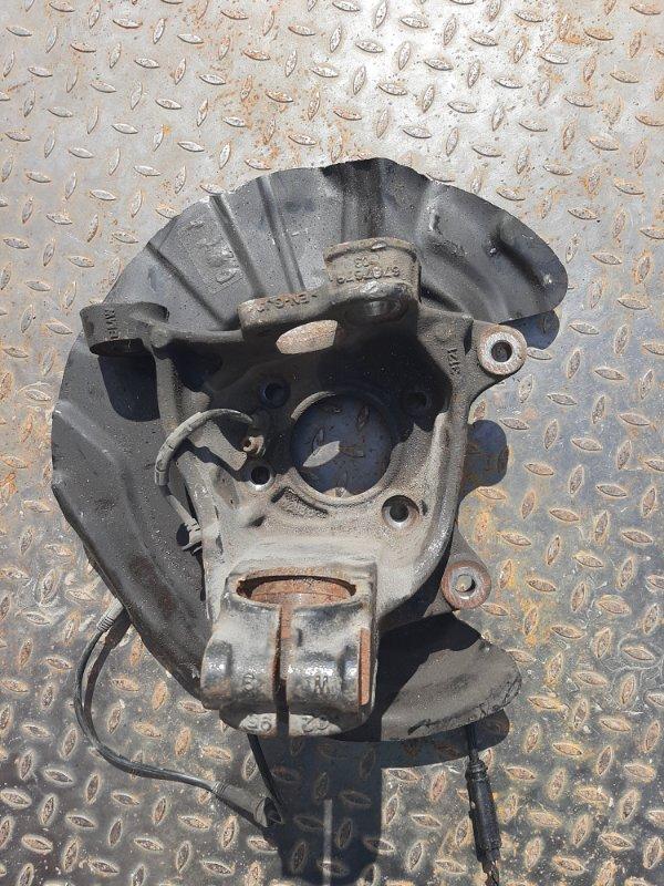 Кулак поворотный Bmw X3 F25 2.0 N47D20C 2012 передний левый нижний (б/у)