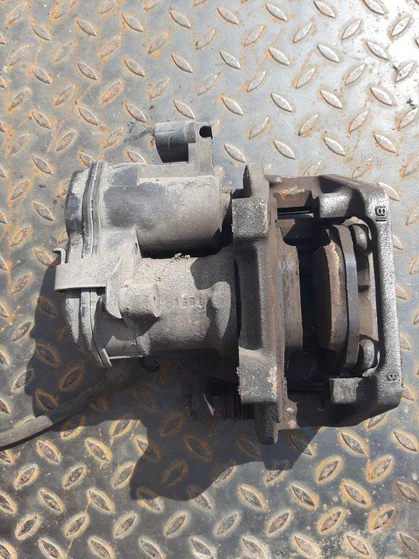 Суппорт тормозной Bmw X3 F25 2.0 N47D20C 2012 задний правый нижний (б/у)