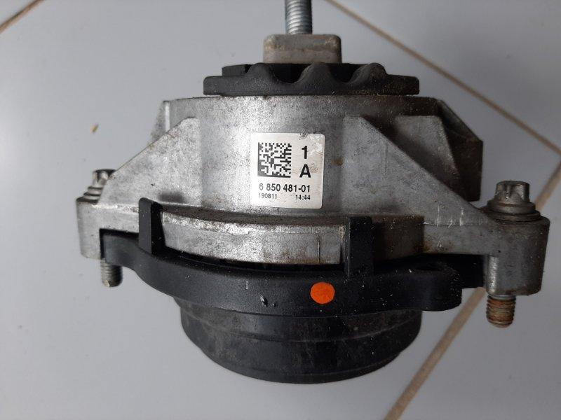 Подушка двс Bmw X3 F25 2.0 N47D20C 2012 передняя левая нижняя (б/у)