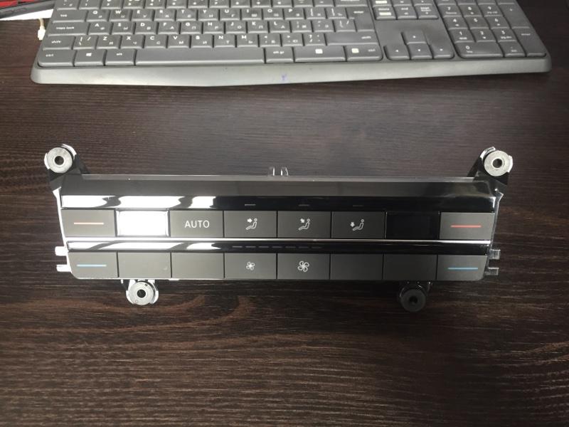 Блок управления климат контроля Volkswagen Touareg CR7 2020 задний (б/у)