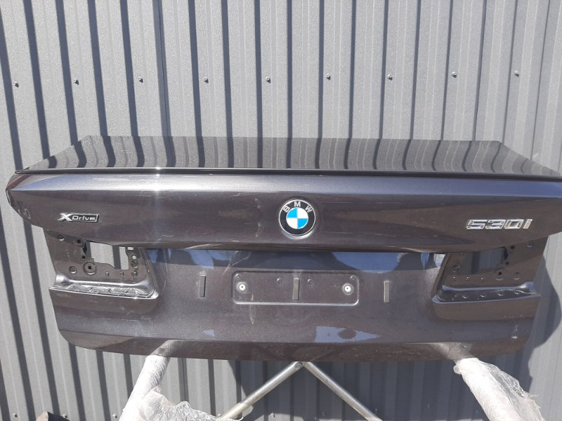 Крышка багажника Bmw 5-Series G30 3.0 B48B20B 2016 задняя (б/у)