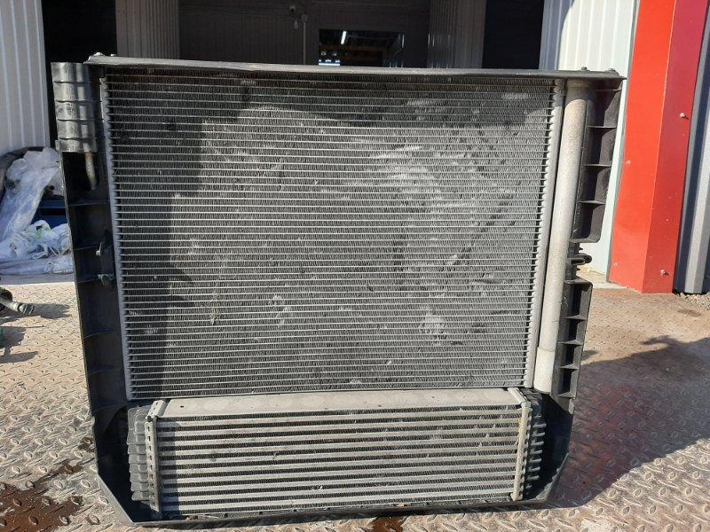Кассета радиаторов Bmw X6 F16 4.0 N57D30B 2013 передняя (б/у)