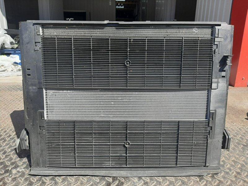 Кассета радиаторов Bmw 3-Series F34 3.0 B48B20B 2016 передняя (б/у)
