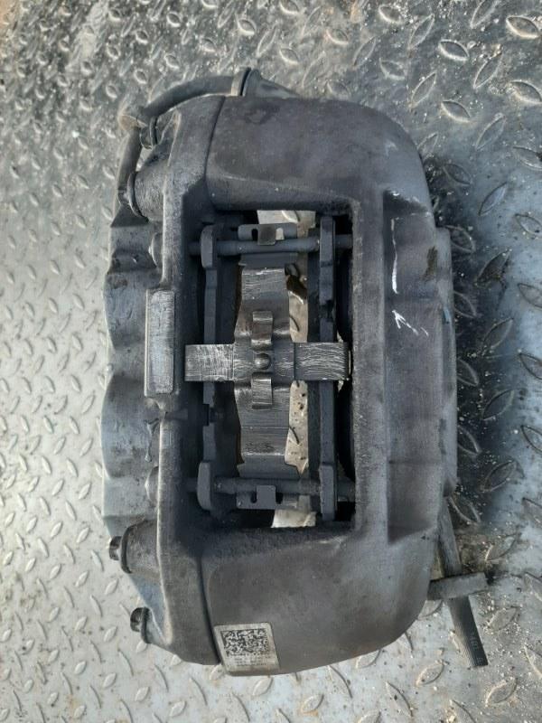 Суппорт тормозной Audi A6 4G 2.0 CYPA 2016 передний правый (б/у)