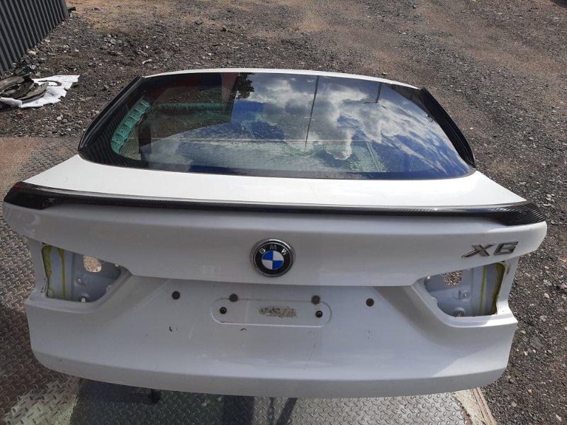 Крышка багажника Bmw X6 F16 4.0 N57D30B 2013 задняя (б/у)