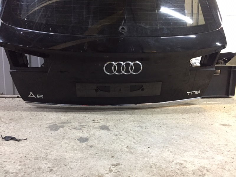 Крышка багажника Audi A6 4G 2.0 CYPA 2011 (б/у)