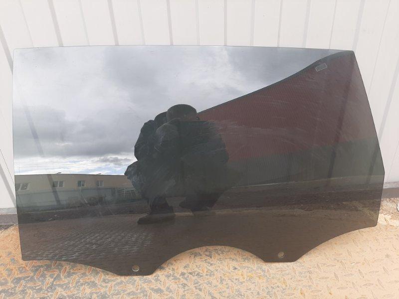 Стекло двери Audi Q7 4L 2007 заднее левое (б/у)