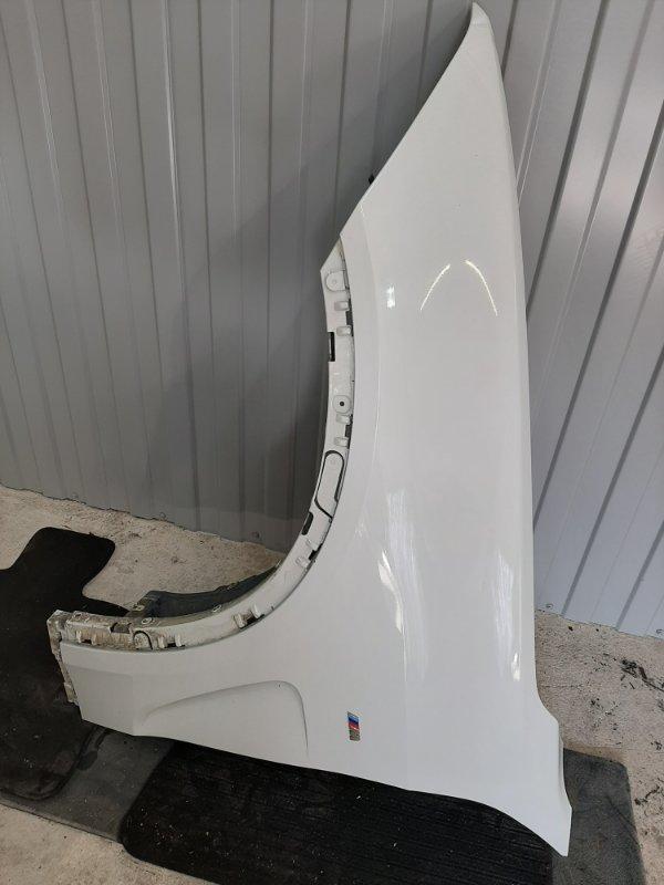 Крыло Bmw X5 F15 3.0 N57D30B 2013 переднее левое (б/у)