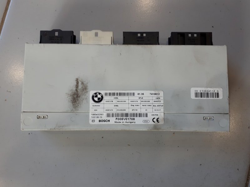 Блок управления крышки багажника Bmw 3-Series F34 2.0 B48B20B 2016 (б/у)