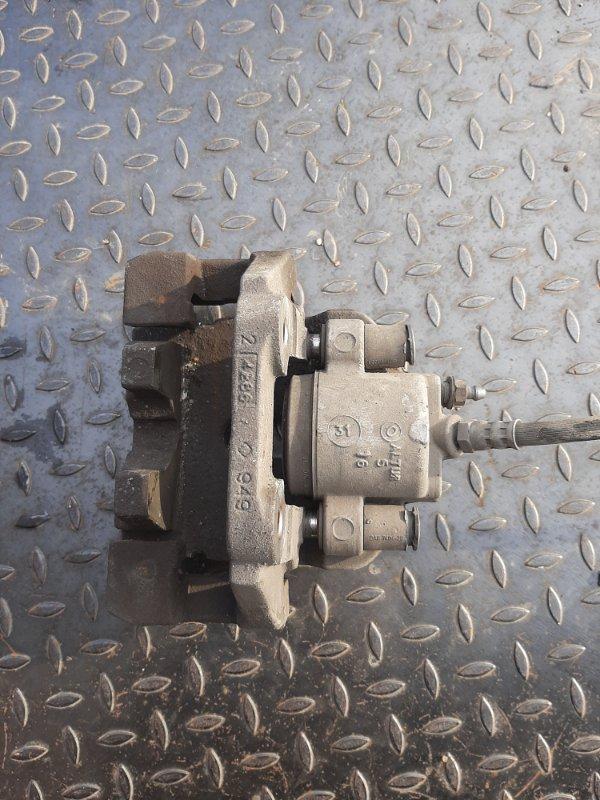 Суппорт тормозной Bmw X5 F15 3.0 N57D30B 2013 задний правый (б/у)
