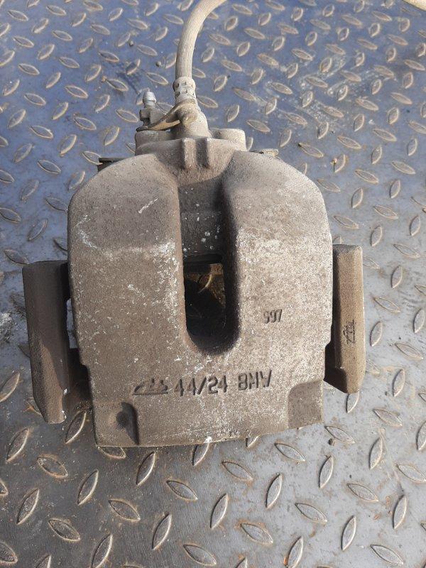 Суппорт тормозной Bmw X5 F15 3.0 N57D30B 2013 задний левый (б/у)