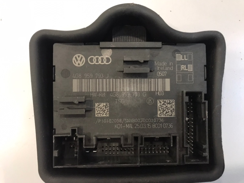 Блок управления двери Audi A6 4G 2.0 CYPA 2016 (б/у)