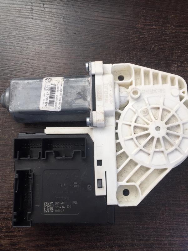 Мотор стеклоподъемника Volkswagen Passat Cc 3C8 2009 передний правый (б/у)