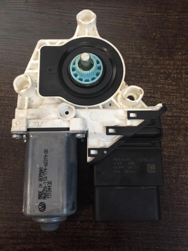 Мотор стеклоподъемника Volkswagen Tiguan 5N 2012 задний левый (б/у)