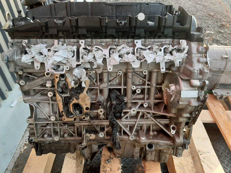 Двигатель Bmw X6 F16 4.0 N57D30B 2013 передний (б/у)