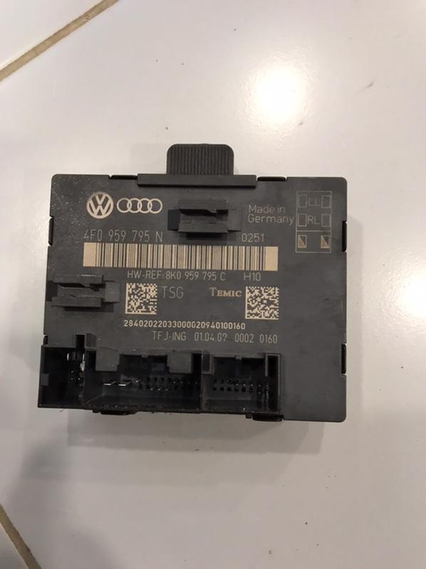 Блок управления двери Audi A4 8K 3.0 CAK 2008 задний (б/у)
