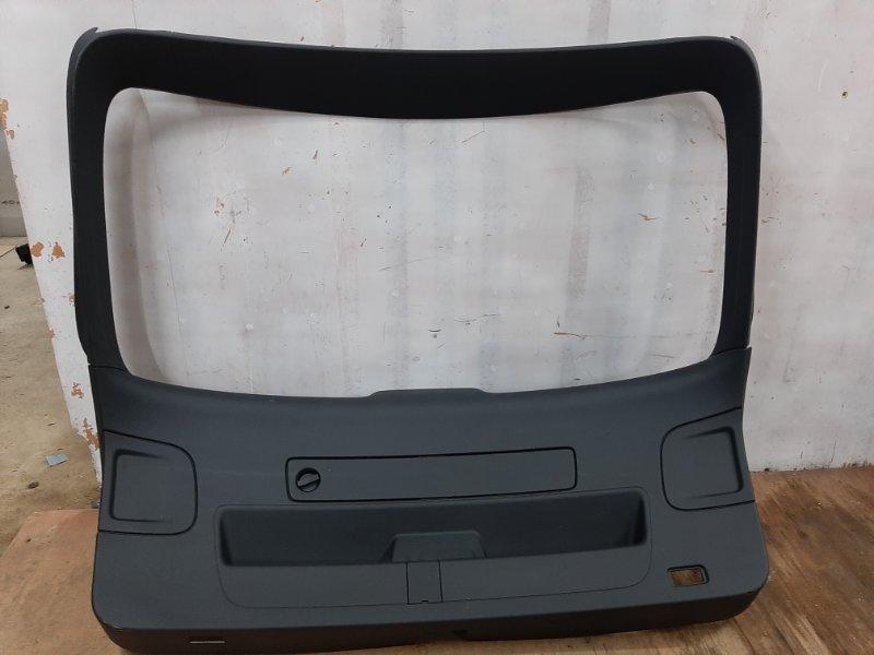 Обшивка багажника Audi A6 4G 2010 задняя (б/у)