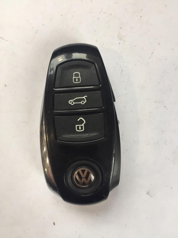 Ключ зажигания Volkswagen Touareg 7P 2011 (б/у)