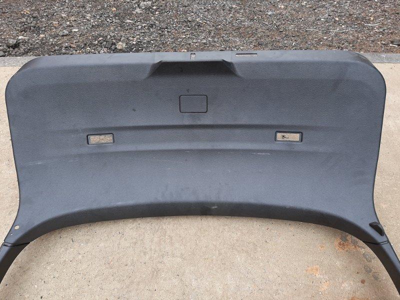 Обшивка багажника Bmw X6 F16 4.0 N57D30B 2013 задняя (б/у)