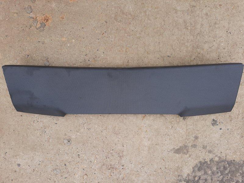 Обшивка багажника Bmw X6 F16 4.0 N57D30B 2013 задняя верхняя (б/у)
