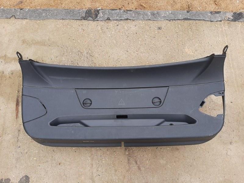 Обшивка багажника Bmw 3-Series F34 3.0 B48B20B 2016 задняя нижняя (б/у)