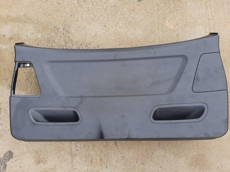 Обшивка багажника Bmw X3 F25 2.0 N47D20C 2012 задняя нижняя (б/у)
