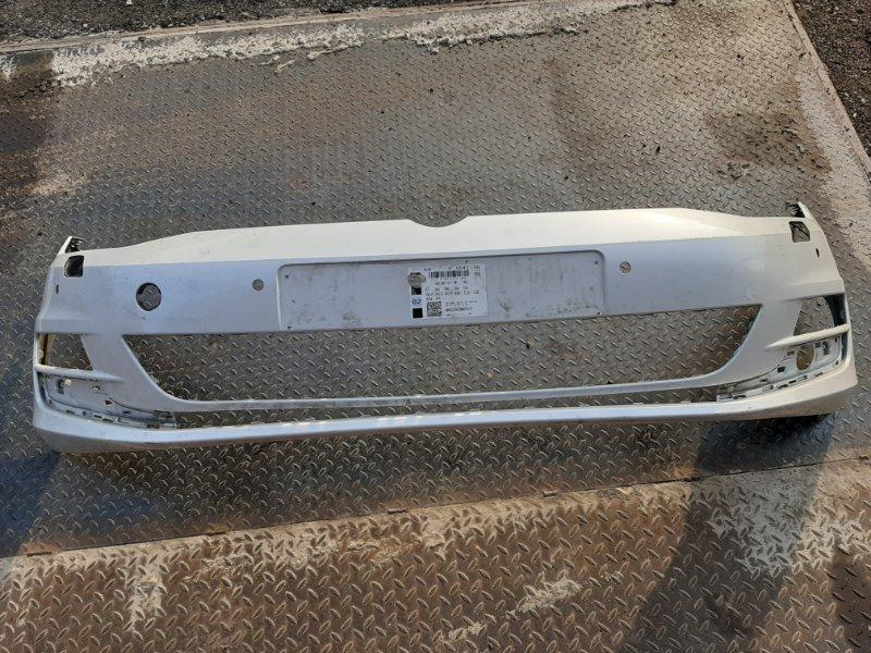 Бампер Volkswagen Golf 5G 2012 передний (б/у)