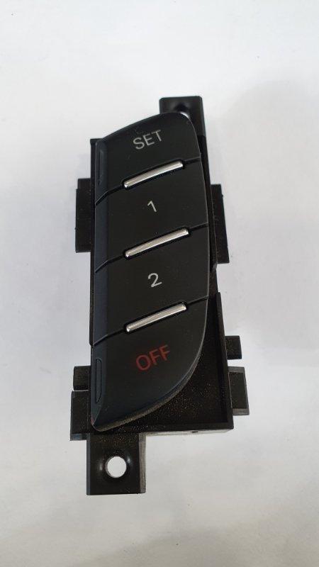 Кнопка памяти сиденья Audi A6 4G 2010 передняя левая (б/у)