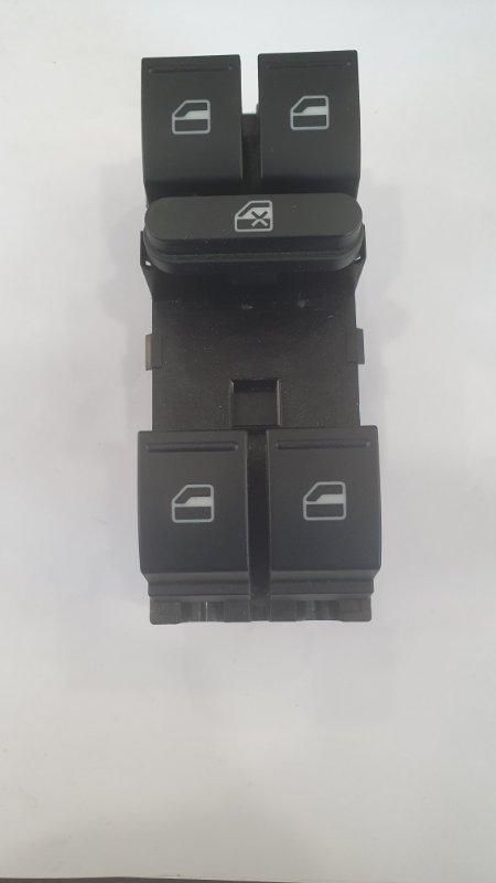 Выключатель стеклоподъемников Volkswagen Tiguan 5N 2007 передний левый (б/у)