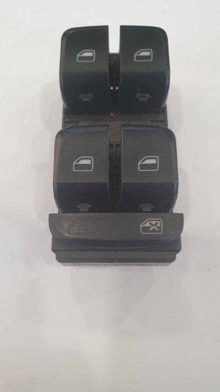 Выключатель стеклоподъемников Audi A4 8K 2008 передний левый (б/у)