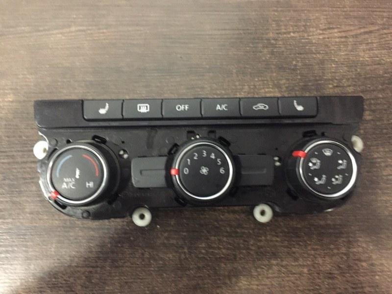 Панель управления климатом Volkswagen Tiguan 5N 2012 (б/у)