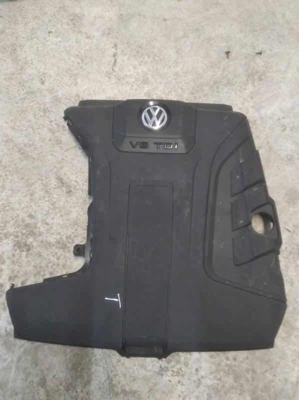 Крышка двс декоративная Volkswagen Touareg CR7 (б/у)