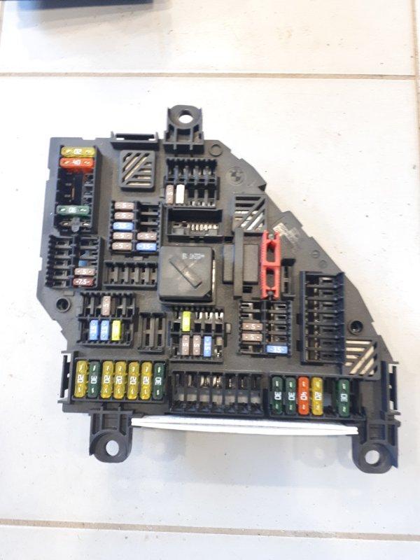 Блок предохранителей Bmw X3 F25 2.0 N47D20C 2012 задний (б/у)