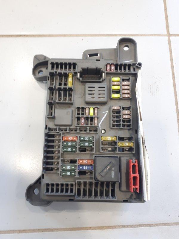 Блок предохранителей Bmw X5 E70 4.0 N57D30B 2012 задний (б/у)