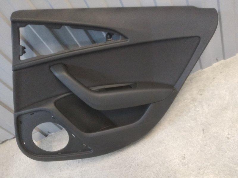 Обшивка двери Audi A6 4G 2010 задняя правая (б/у)