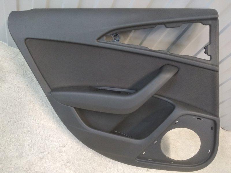Обшивка двери Audi A6 4G 2010 задняя левая (б/у)