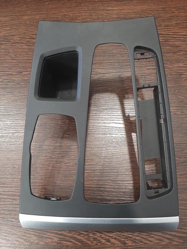 Накладка центральной консоли Bmw X5 F15 3.0 N57D30A 2014 (б/у)