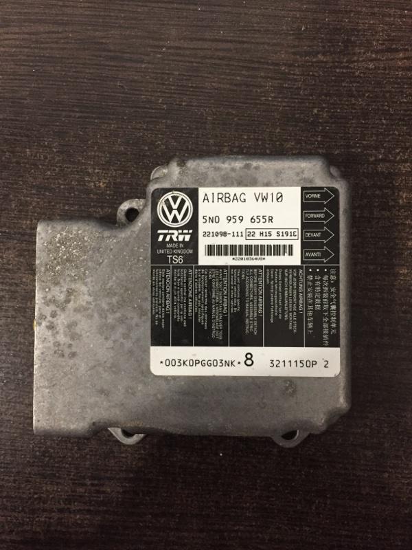 Блок управления подушек безопасности Volkswagen Tiguan 5N 2008 (б/у)