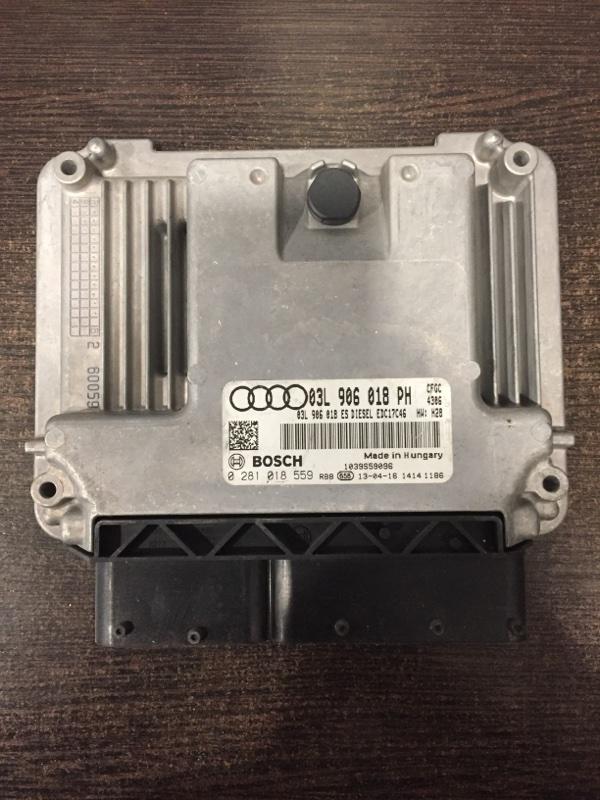 Блок управления двигателем Audi Q3 8U 2.0 TDI 2012 (б/у)