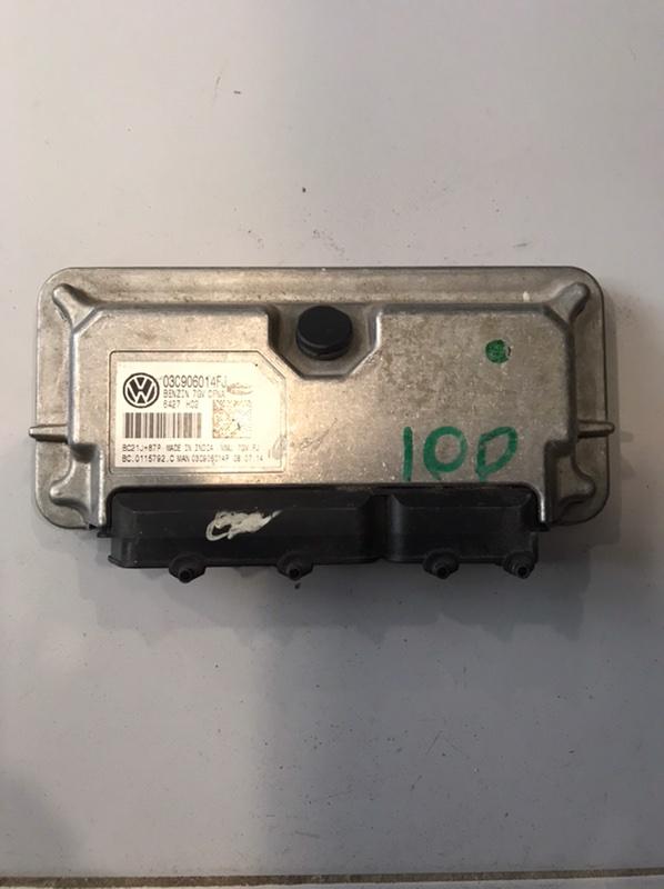 Блок управления двигателя Skoda Rapid 5JA (б/у)