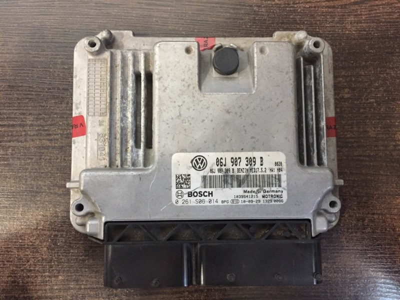Блок управления двигателя Volkswagen Passat 3C 1.8 TSI 2008 (б/у)