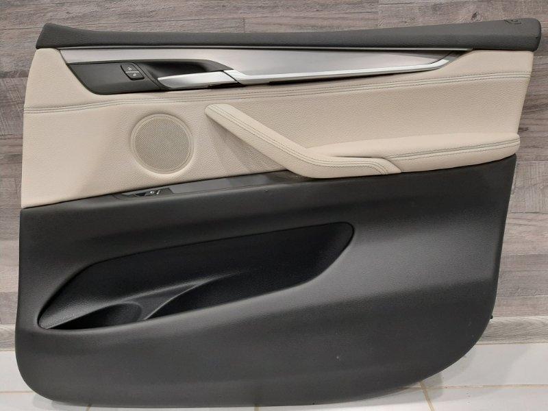 Обшивка двери Bmw X5 F15 2013 передняя правая (б/у)