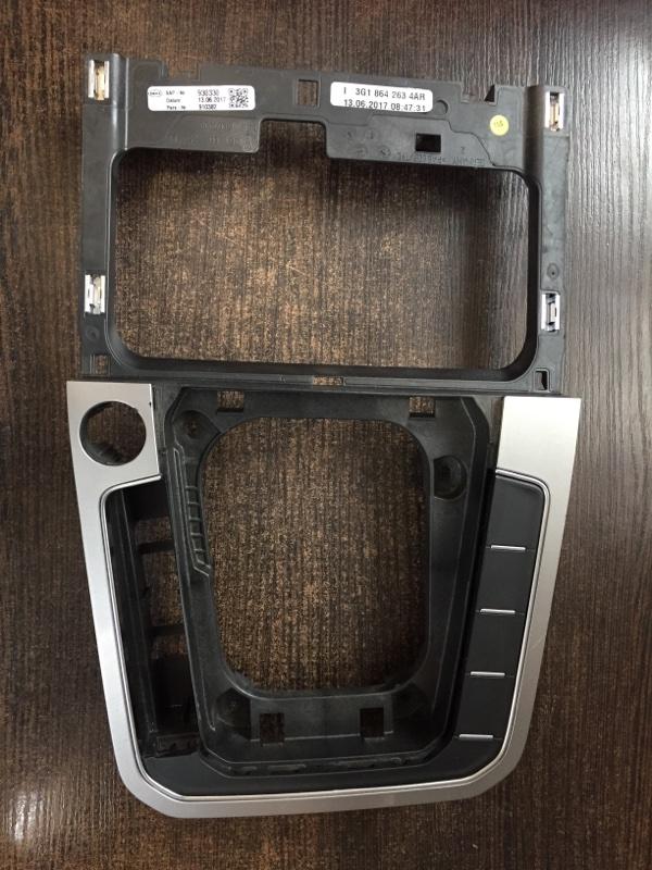 Накладка центральной консоли Volkswagen Passat 3G 2015 (б/у)