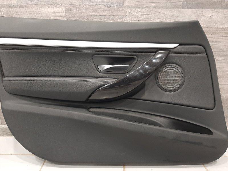 Обшивка двери Bmw 3-Series F34 2.0 B48B20B 2016 передняя левая (б/у)