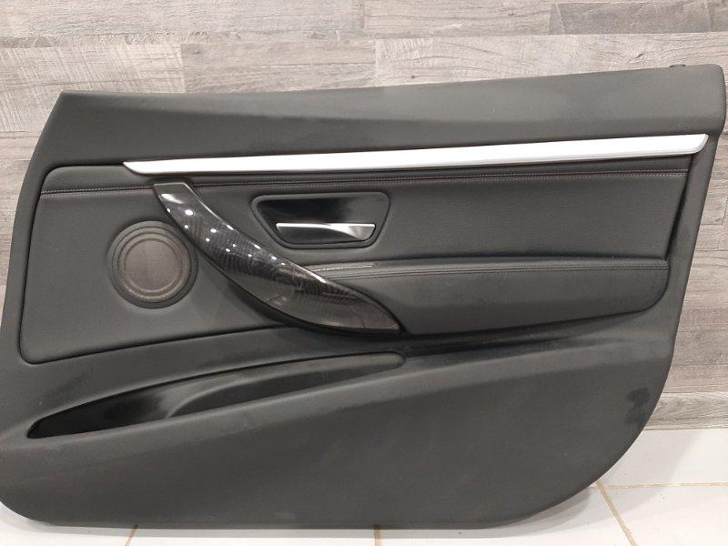 Обшивка двери Bmw 3-Series F34 2.0 B48B20B 2016 передняя правая (б/у)