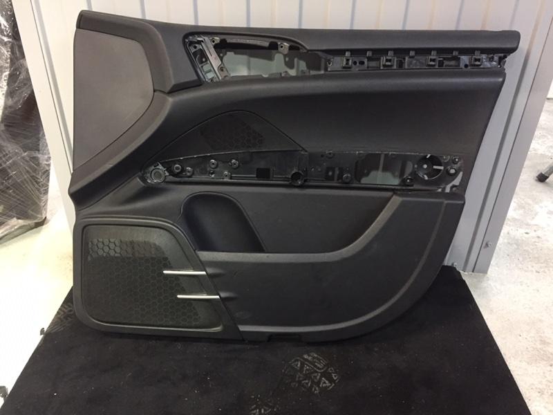 Обшивка двери Porsche Cayenne 958 3.0 TDI передняя правая (б/у)