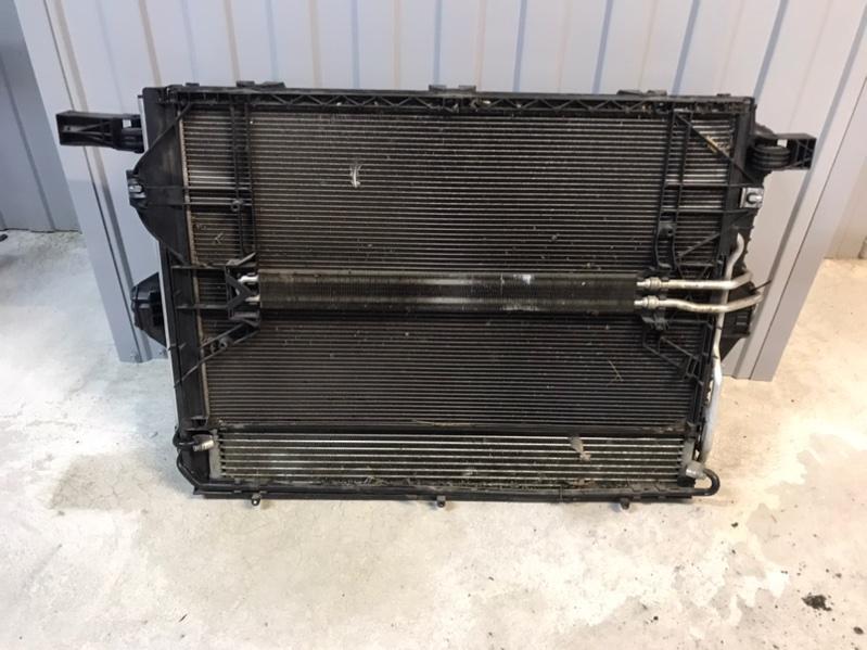 Кассета радиаторов Porsche Cayenne 958 3.0 TDI (б/у)